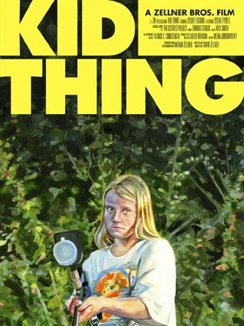 Kid Thing Poster Art - P 2013