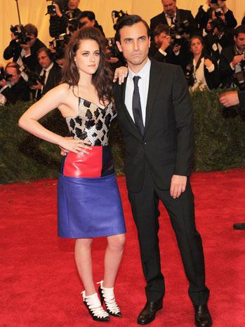 Kristen Stewart and Nicolas Ghesquière