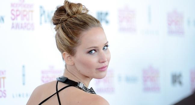 Jennifer Lawrence Spirit Awards H 2013