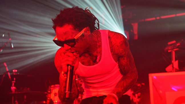 Lil Wayne Performing GQ Pre Super Bowl Party 1 - H 2013