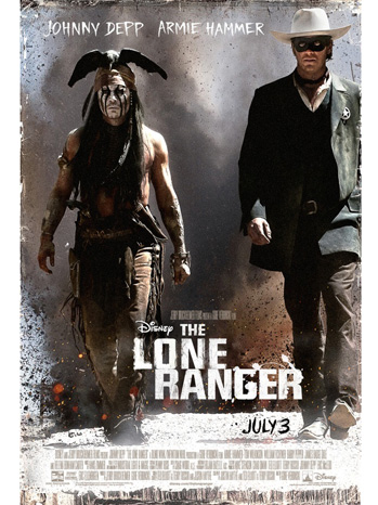 The Lone Ranger Poster - P 2013