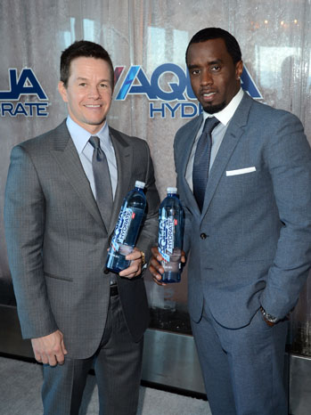 Mark Wahlberg Sean Combs Aqua Hydrate - P 2013