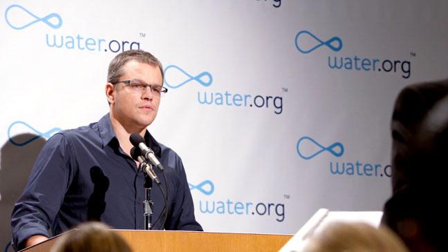 Matt Damon Water.Org - H 2013