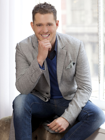 Michael Buble publicity 2012 P