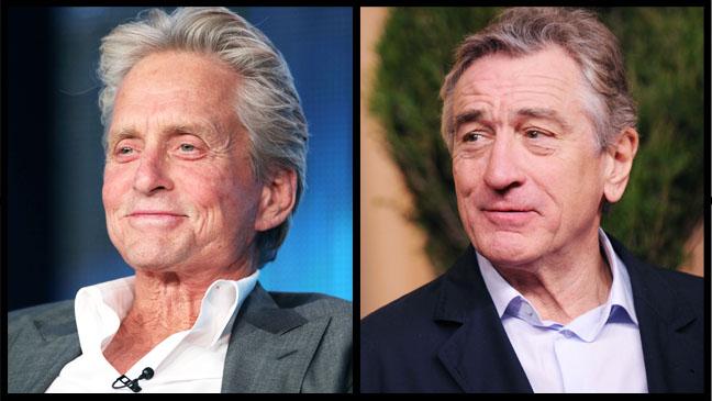 Michael Douglas Robert De Niro Split - H 2013
