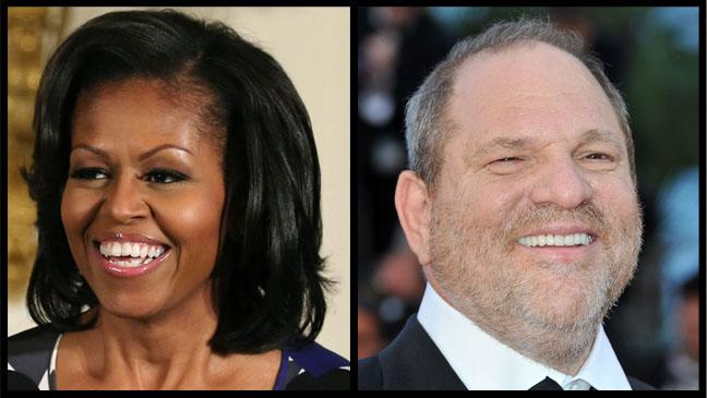 Michelle Obama Harvey Weinstein Split - H 2013