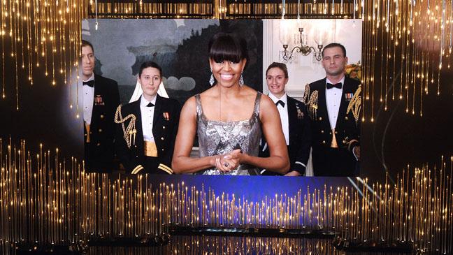Michelle Obama Oscars Presenter - H 2013