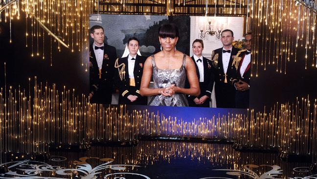 Michelle Obama Oscars - H 2013