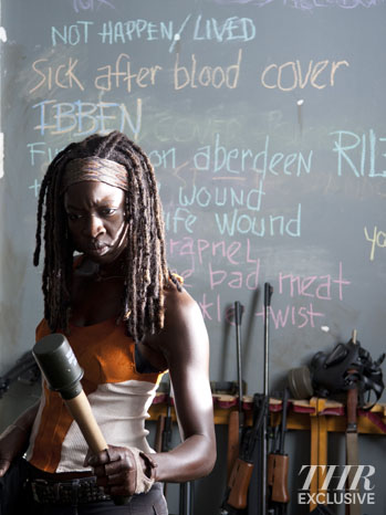Michonne Walking Dead Exclusive - P 2013