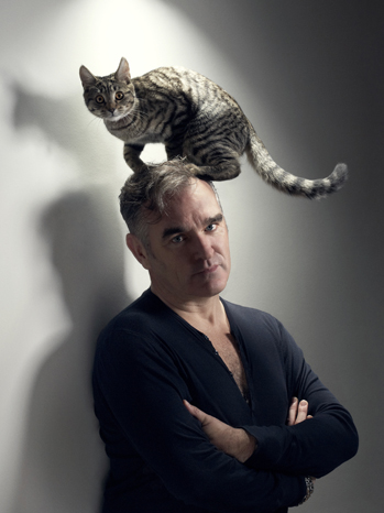 Morrissey with cat PR 2012 P