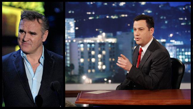 Morrissey Jimmy Kimmel - H 2013