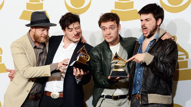 Mumford & Sons Grammy - H 2013