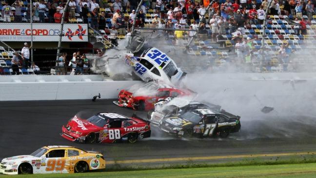 NASCAR Crash - H 2013