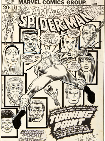 Original Spider-Man Comic Cover - P 2013