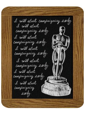 Oscars 101 Chalkboard - P 2013
