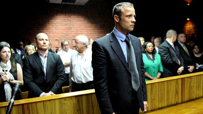 Oscar Pistorius in Court 2/19 - H 2013
