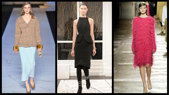 Paris Fashion Week Three Split - H 2013