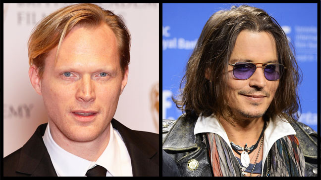 Paul Bettany Johnny Depp Split - H 2013