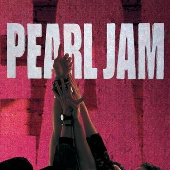 Pearl Jam Ten cd art P