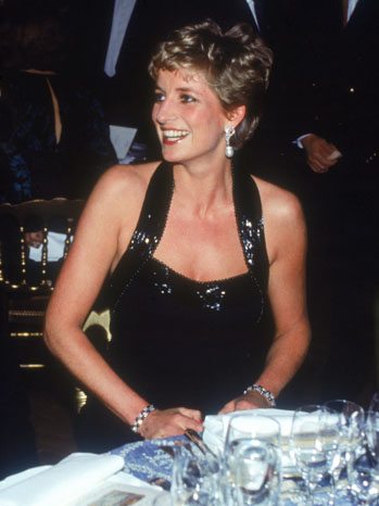 Princess Diana Catherine Walker Gown 1994 - P 2013
