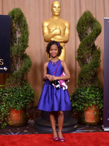 Quvenzhane Wallis Oscars - P 2012