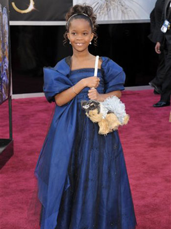 Quvenzhane Wallis Oscars - P 2013