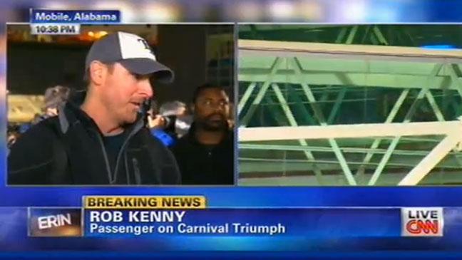 Rob Kenny Cruise Ship Screengrab - H 2013