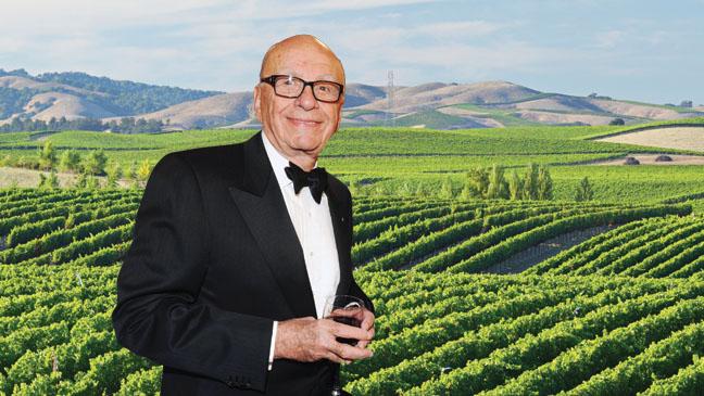 Rupert Murdoch Bel-Air Winery - H 2013