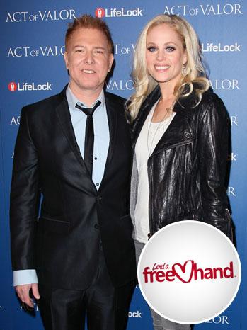Ryan Kavanaugh Britta Lend A Free Hand - P 2013