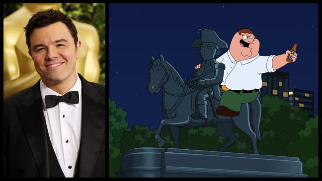 Seth MacFarlane Family Guy Split - H 2013