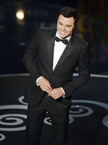 Seth Macfarlane Oscars 2 - P 2013