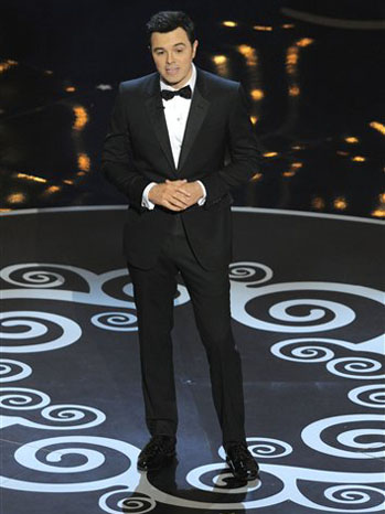 Seth Macfarlane Oscars - P 2013