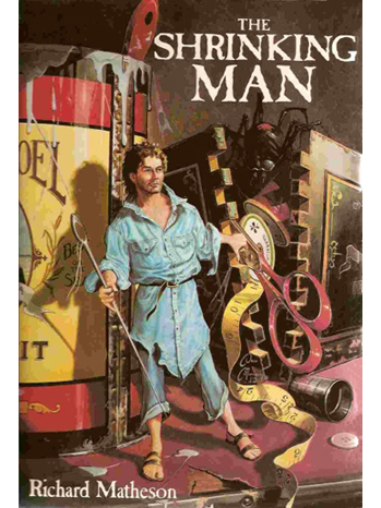 Shrinking Man Book Cover - P 2013