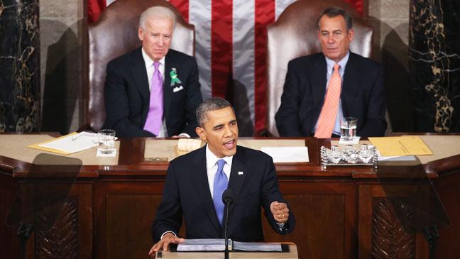 State of Union Barack Obama 2 - H 2013