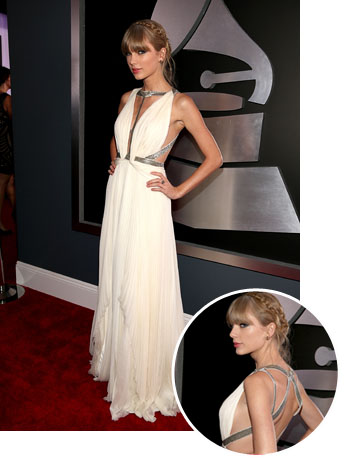 Taylor Swift Grammy Awards Dress - P 2013