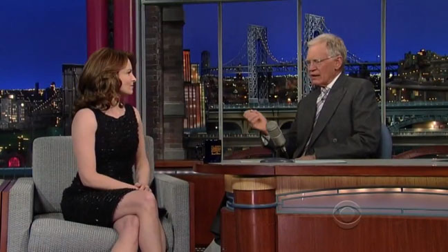 Tina Fey Letterman - H 2013