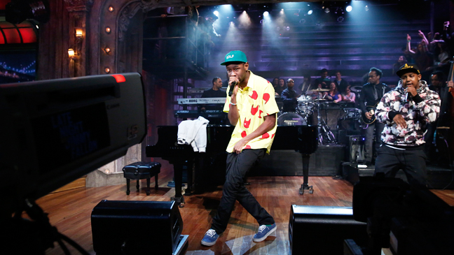 Late Night With Jimmy Fallon Tyler the Creator - H 2013