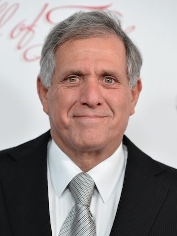 Les Moonves at TV Hall of Fame P
