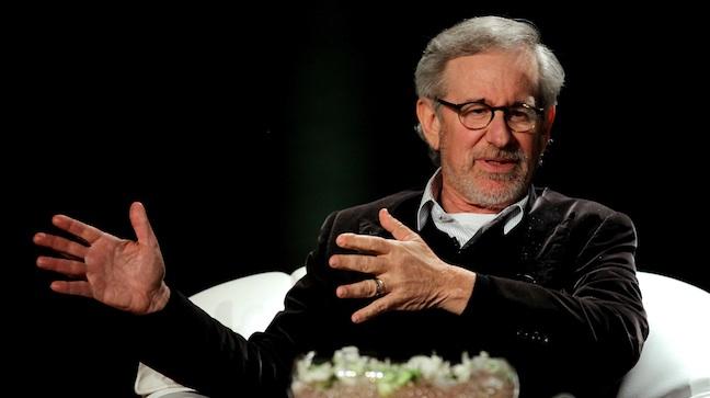 Steven Spielberg in Mumbai 2013 H