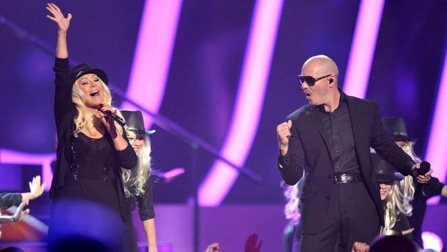 Christina Aguilera, Pitbull