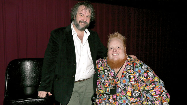 Harry Knowles and Peter Jackson