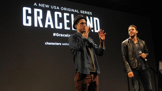 Aaron Tveit SXSW Graceland Press - H 2013