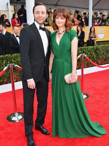 Vincent Kartheiser Alexis Bledel Golden Globes - P 2013