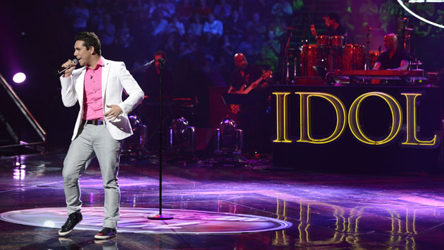 American Idol Lazaro Arbos Performing - H 2013