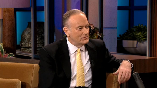 Bill O'Reilly Tonight Show - H 2013
