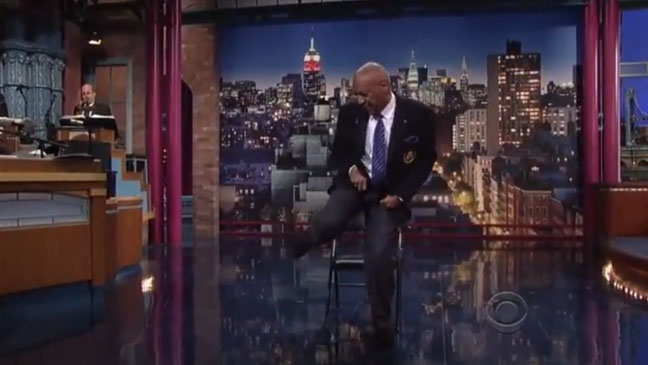 Bill Cosby on David Letterman - H 2013