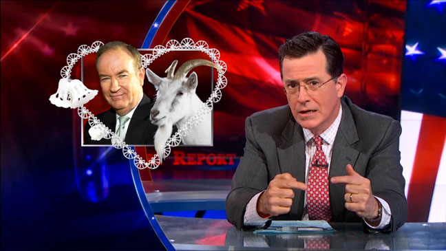 The Colbert Report Bill O'Reilly and Goat - H 2013