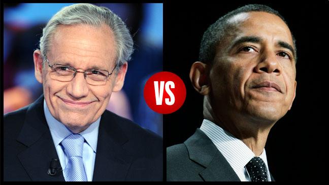 Bob Woodward Vs. Barack Obama Split 1 - H 2013