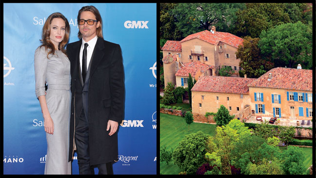 Brad Pitt Angelina Jolie Winery - H 2013