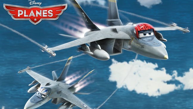 Disney's Planes Bravo & Echo Kilmer - H 2013